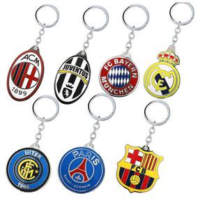 Chaveiros Time Futebol, Barcelona, Psg, Manchester Unit E +!