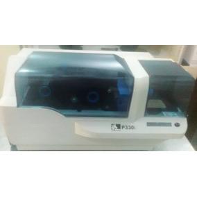 Impresora Carnet Pvc Zebra 330 I - Usada