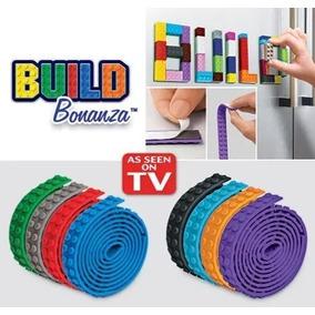 Build Bonanza Pista Estrada P/ Lego Blocks Fita Adesiva