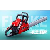 Motosierra A Gasolina Flinke Fk 9700 Espada 18 Pulg
