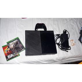 Xbox One + 2 Jogos (tudo Original, Jogos E Afins)