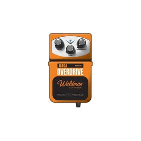 Pedal Waldman De Efeito P/ Guitarra Mega Overdrive - Mov3r