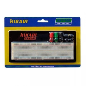 Kit 4 X Protoboard 830 Pontos Hikari Hk-p100