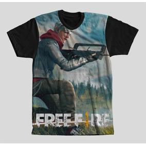 Camisa Camiseta Jogo Free Fire Promoção Masculino Full 2018 955b060c80190
