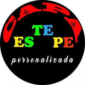 Capa Estepe Personalizada Edição Impressão Marca Logo Imagem
