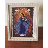 Virgen Bordada A Mano