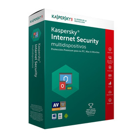 Kaspersky Antivirus Internet Security 3 Pc 1 Año 2019