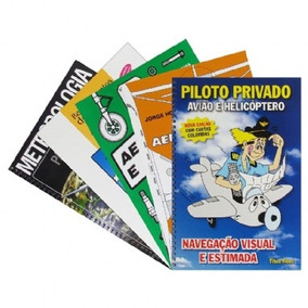 Kit Livros Curso Piloto Privado Teórico