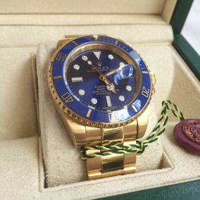 0ce4eeab6a2 Reloj Rolex Submariner Oro Automatico Eta Con Caja
