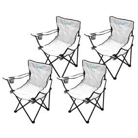 Combo 4 Sillas Plegables Para Playa De Tela Onof Spp-01