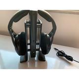 Sennheiser Rs 170 Wireless Inclui Transmitter E Headphones