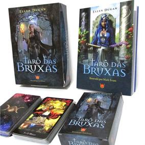 Tarô Das Bruxas Livro + Tarô 78 Cartas - Editora Isis