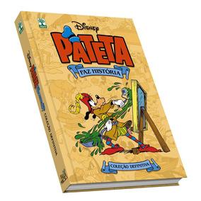 Kit Hq Pateta Faz História 3 Vols. Disney Coleção Definitiva
