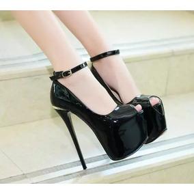 1c3f53362 Sapato Brilho Festa Importado Salto - Sapatos no Mercado Livre Brasil