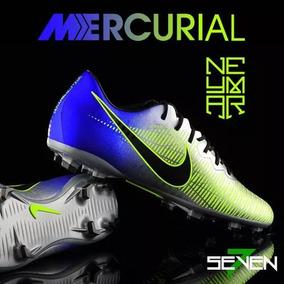 5445534c5c Chuteira Nike Mercurial Verde Limao Adultos Futsal - Chuteiras no ...