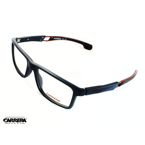 106a061ce2a0e Montura Óptica Carrera® 2019 Navy Blue 53°18mm Opt0074 Marco