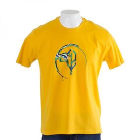 Camiseta World Cup Amarela