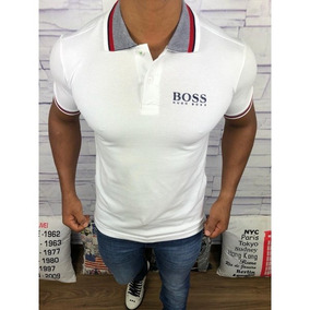 ca9a201a4e2ff Camisa Polo Hugo Boss - Pólos Manga Curta Masculinas no Mercado ...