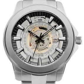 1ffcdce32f517 Relógio Technos Masculino Prata Essence F06111ab 1w Suiço