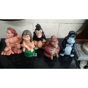 Coleção Tarzan 05 Peças Todas Com Apito