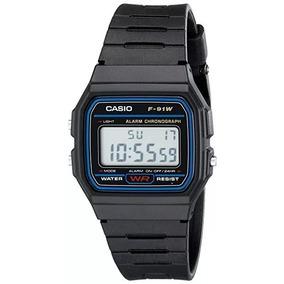 1151f5c7cc4 Relogio Casio F91w Preto - Relógios no Mercado Livre Brasil