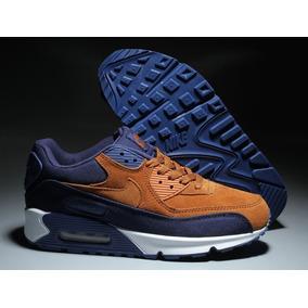 dca4aa6abb5 Tenis Nike Air Max 90 Azul Escuro Masculino - Calçados