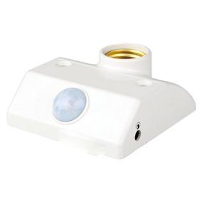 Sensor De Movimento Iluminação De Presença E27 Dia E Noite