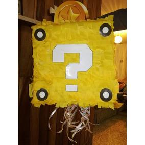 Piñata Mario Bross Cubo
