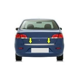 Friso Porta Malas Cromado Vw Polo Sedan - Original 6q5853955
