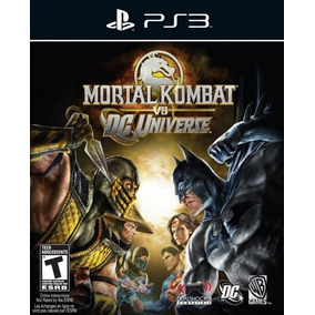 Mortal Kombat Vs Dc Universe Ps3 Mídia Digital Psn Promoção