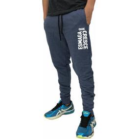 Calça Moletom Abrigo Estampada Treino Slim Fit Swag Moleton