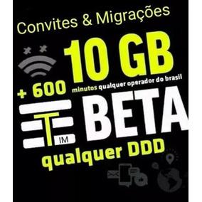 Convite Tim Beta 10 E 20 Gb De Internet Beta Beta Lab