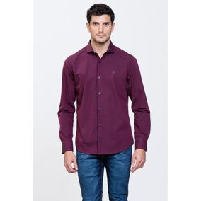 Camisa Blur Slim Fit Hombre Prototype