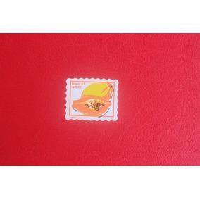 Selo Ordinario R$ 0,05 Mamão Com Deslocamento Da Cor Preta.