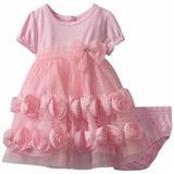 Vestido Niña Flores 24 Meses Importado