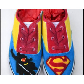 Tenis De Superman Para Mujer en Mercado Libre México 37cf0699fdd45