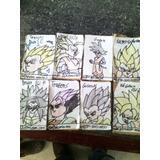 Barajiras De Dragon Ball Tipo Cartas A Mano