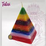 Tatai Tienda | Pirámide 7 Colores, 7 Potencias De Parafina