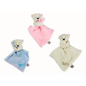 Naninha Mini Blanket Urso Baby, Zip Toys