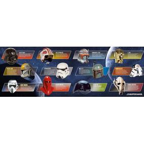 Coleção Capacetes Star Wars - 4 Volumes Da Coleção