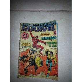 Revistinha Superaventuras Marvel - Nº 1 -raridade