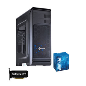 Pc Hunter Intel G4560 H110m Pro Vh 2x 4gb 350w Ssd240 Gt1030