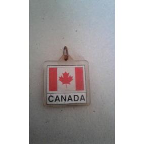 Chaveiro Bandeira Do Canadá