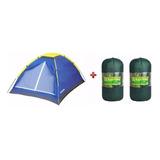 Barraca Camping Iglu 4 Pessoas Mor + 2 Colchonete Casal