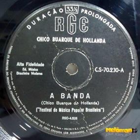 Chico Buarque De Holanda 1966 A Banda Compacto