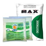 2x Albumina Saltos + 1 Dextrose 1kg Max Titanium