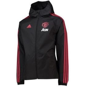 Blusa Tactel Do Manchester United Masculina - Super Desconto 9a22360292596