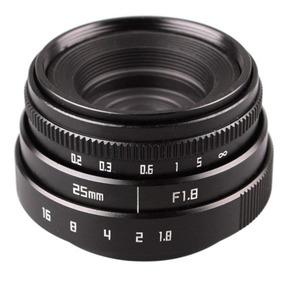 Lente Grande Angular 25mm F1.8 P/ Sony Nex A6000 A6500 A6300
