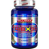 Dobro De Potência Tribulus Tribx90 Allmax 90% Saponinas 750