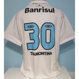 49616044a5bc4 Camisa Branca Do Gremio 100reais - Futebol no Mercado Livre Brasil